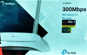 TpLink WR850N WiFi Router 300 Mbps 2 Antenna